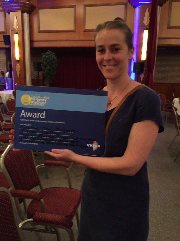 Eveline wint Award